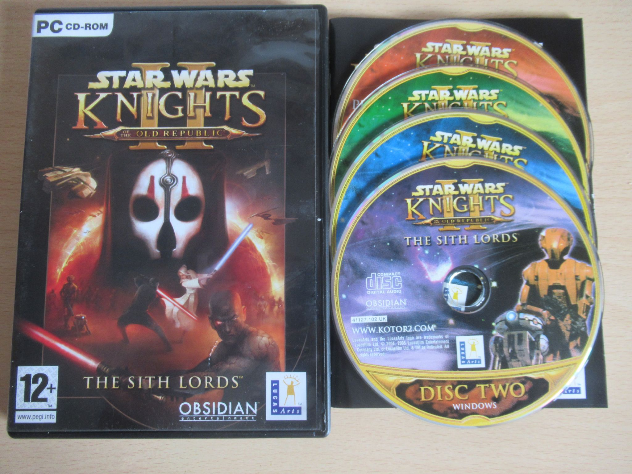Star Wars Knights of the Old Republic II - Sith Lords (PC)