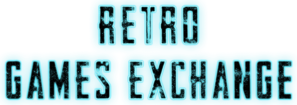 Retro games exchange logo